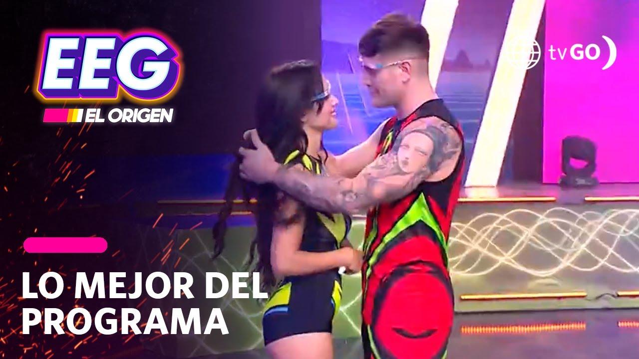 Download EEG El Origen: Pancho Rodríguez y Rosángela Espinoza recrearon escena de beso