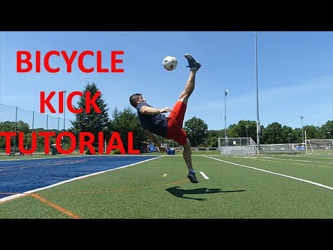 How To Do A Bicycle Kick In Soccer/Football