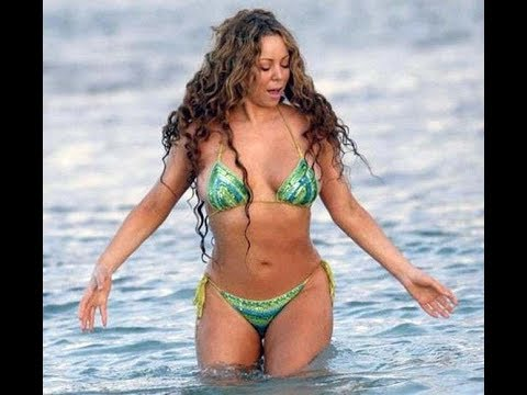 Hottest & Naughty Picture / Video of Mariah Carey in a Bikini