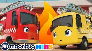 Buster the Hero Fire Truck!   Go Buster By Little Baby Bum: Baby Songs & Kids Cartoons   ABCs & 123s