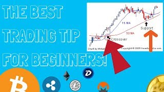 THE BEST DAY TRADING TIP FOR BEGINNERS. (Real Time Trading)