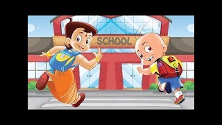Mighty Raju and Chhota Bheem's - Chalo School Chale