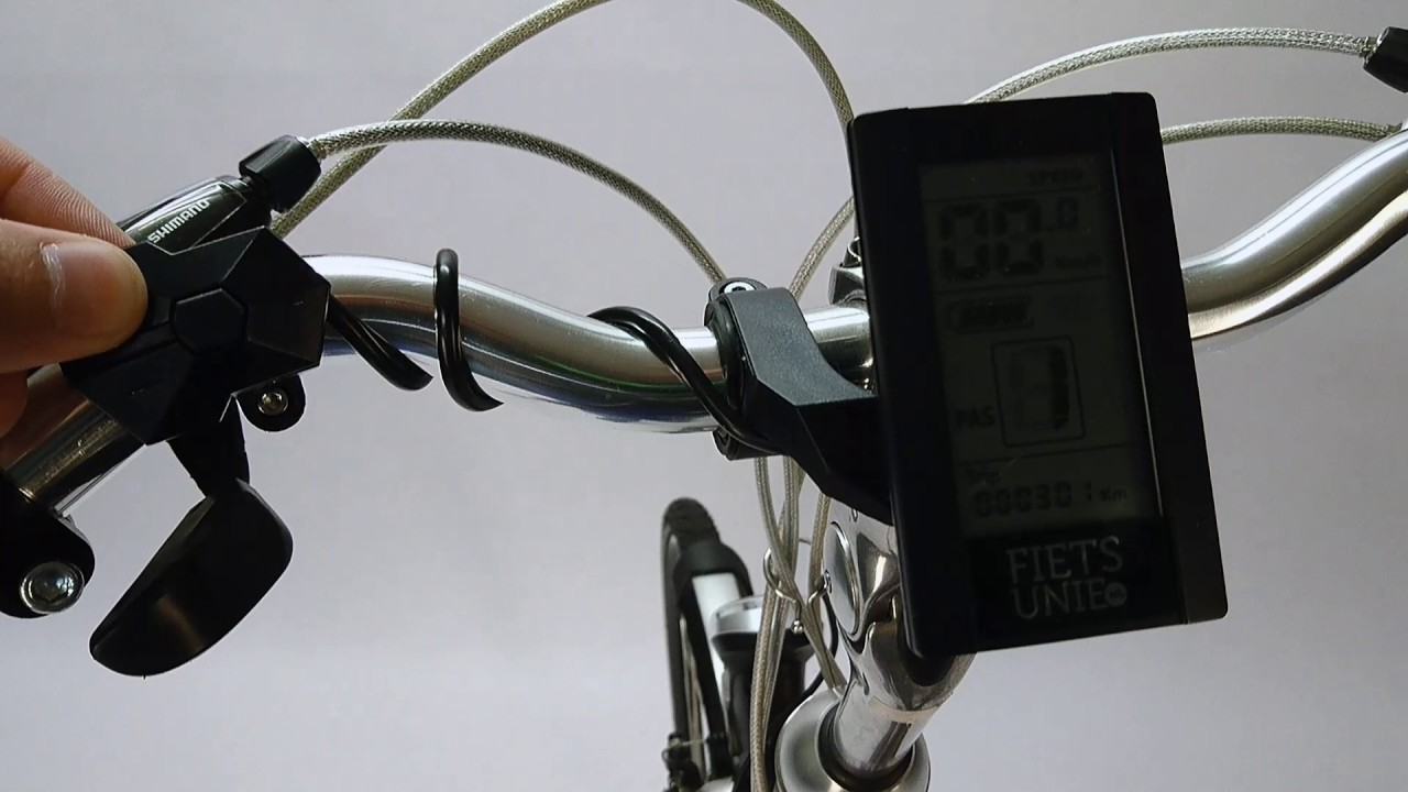 How to adjust levels on Bafang E-Drive display (Turn on subtitles ...