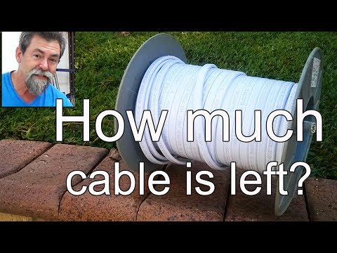 Easy, how much electrical cable is left on spool | dave stanton | how to