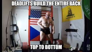 Deadlifts DO Build Your Lats!