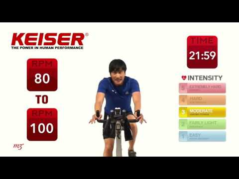 Keiser Cycle Yoga