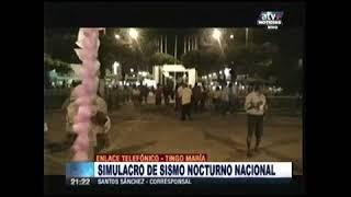 EJTO PARTIICPA EN SIMULACRO EN TINGO MARIA  ATV+