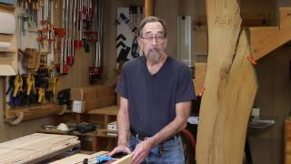 The Down to Earth Woodworker - Maple Bookshelves Part 4