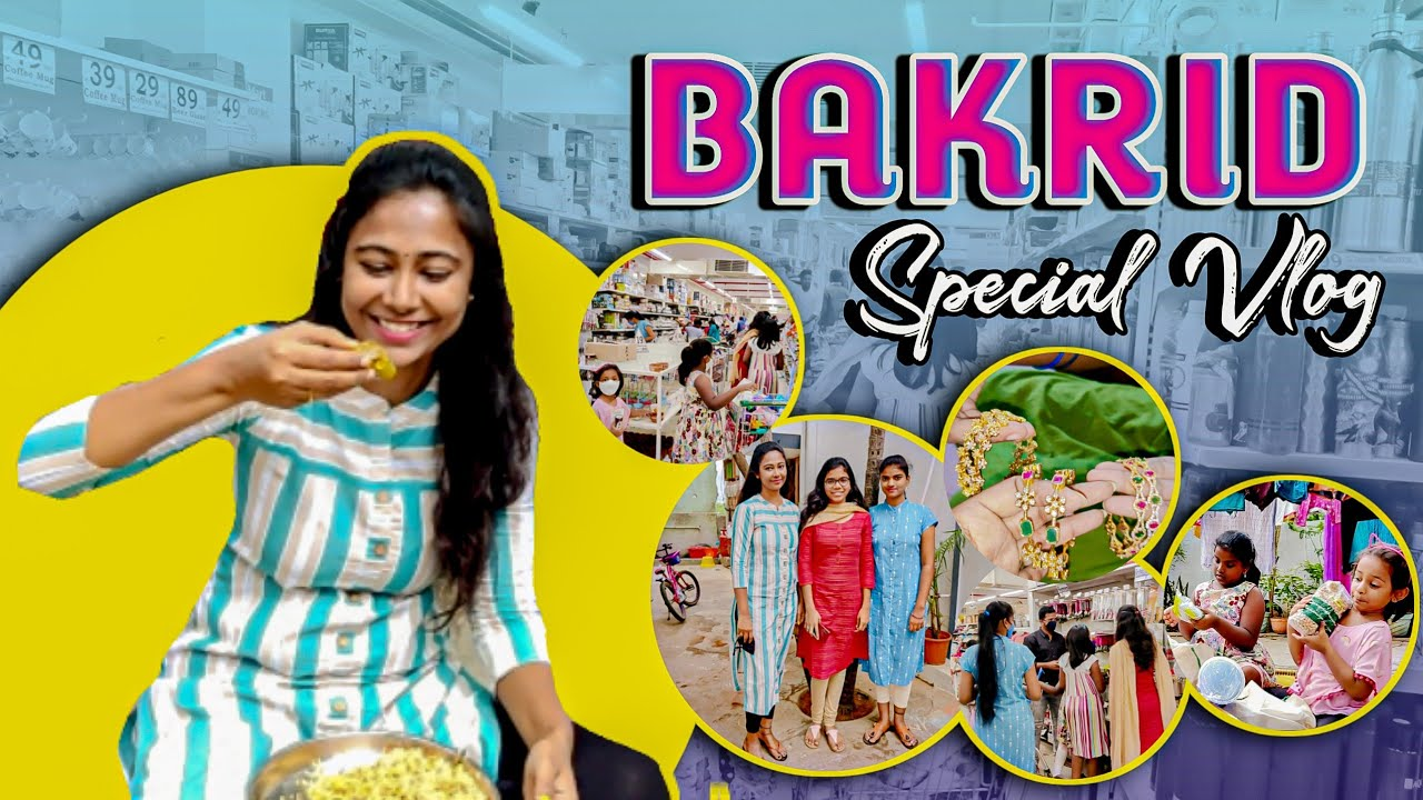 #Vlog   Bakrid Special   AS😘