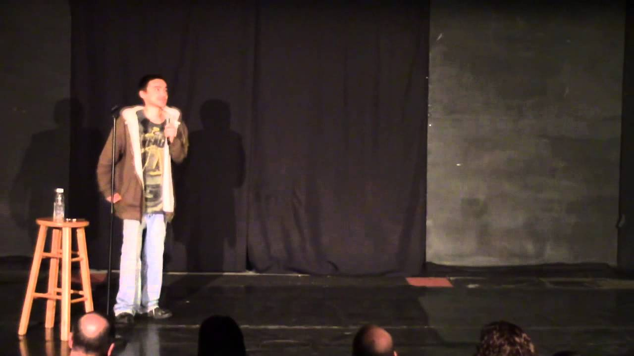 Bruce Lee Impression (Stand Up Comedy) Adamzez - YouTube