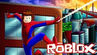 BECOMING SPIDERMAN IN ROBLOX! | ROBLOX GAMEPLAY