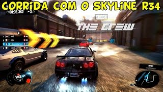 The Crew : Corrida com o Nissan Skyline R34 [PC Gameplay]