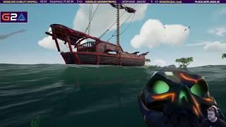 Kapitan Dawidek i pomocnik na pokładzie - Sea of Thieves / 07.05.2019 (#2)