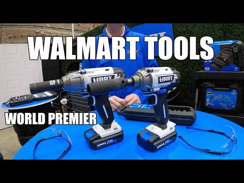 Walmart Now Has Its Own Power Tool Brand - HART Tools