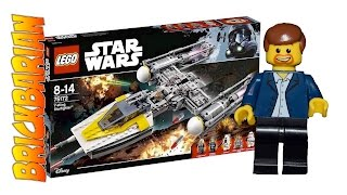 Lego Investing Y Wing Starfighter 75172
