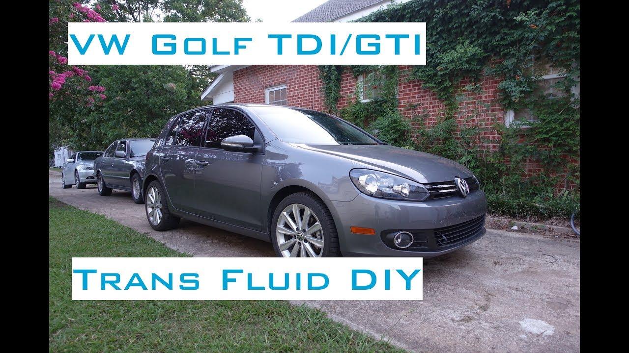 2012 jetta manual transmission fluid