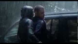 Gay love scene from German movie Freier Fall about two cops
