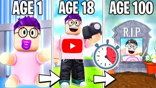 Adopt Me BUT EVERY MINUTE WE GET OLDER!? (LANKYBOX LIFE SIMULATOR!)