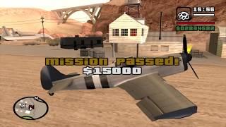 Flying upside down - GTA San Andreas - N.O.E. - Airstrip mission 2