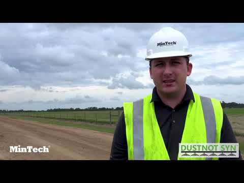 How To Replace Water For Dust Control On Roads With MinTech DustNot Syn