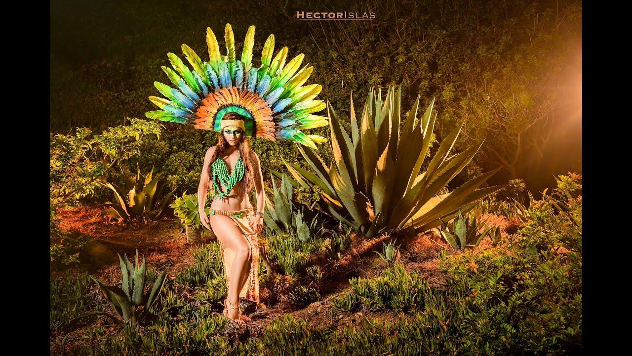 Aztec princess women