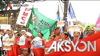 Kaliwa Dam protest