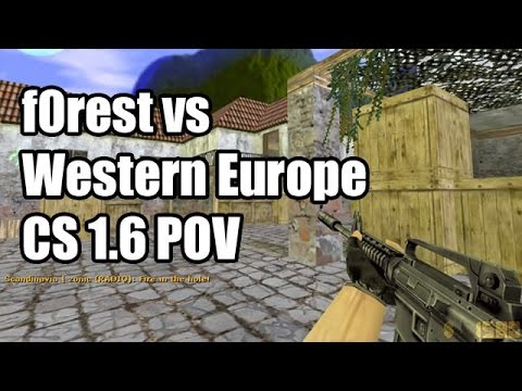POV: f0rest vs. Western Europe @CS Allstars CS 1.6 Demo