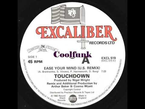 "Touchdown - Ease Your Mind (12"" U.S. Remix 1982)"