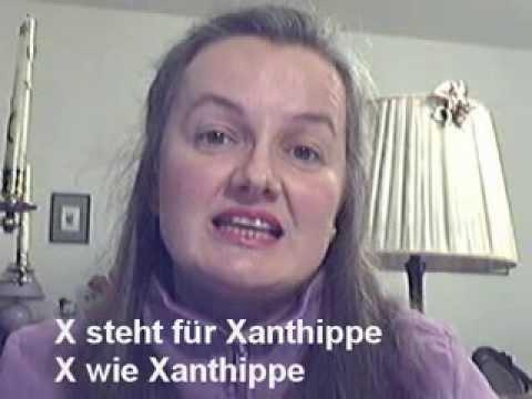 Das deutsche Telefonalphabet-Lied (German Telephone Alphabet Song) - Learn German easily