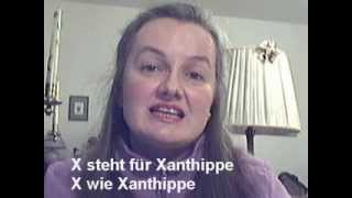 Das deutsche Telefonalphabet-Lied (German Telephone Alphabet Song) - Learn German easily