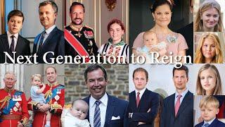Future Monarchs Of Europe