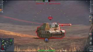 WoT Blitz T82  derp gun