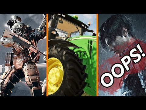 Indie Dev DMCAs Its Own Game + Farming Simulator eSports!? + IGN Goofs on Resident Evil 2 Review