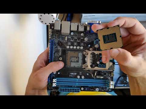 Как установить процессор Intel на материнскую плату