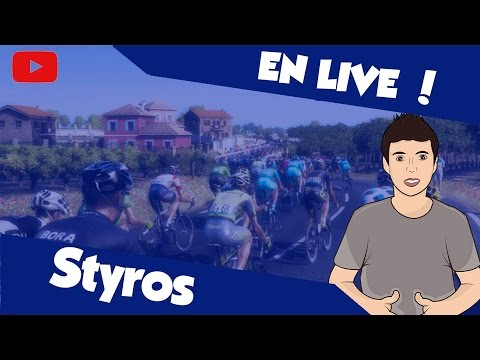 STYROS : MY TOUR AVEC ALAPHILIPPE. - Bienvenue sur la Web TV dédiée a la communauté Cyclisme du YouTube Game !