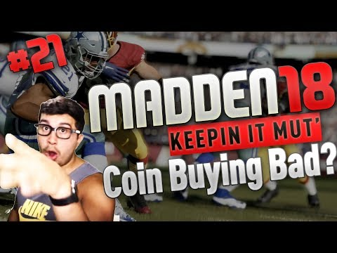 IS  COIN BUYING IN MADDEN ULTIMATE TEAM RUINING THE MODE?