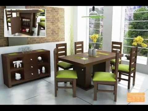 Muebleria zambrano salas y comedores youtube for Decoracion de cocinas comedores modernos