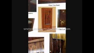 Gun Cabinet Woodworking Plans.wmv