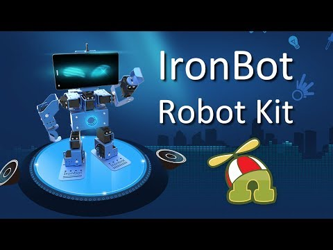 RoboSpace IronBot Kit Home Edition – Kid-friendly DIY Robot Kit Review