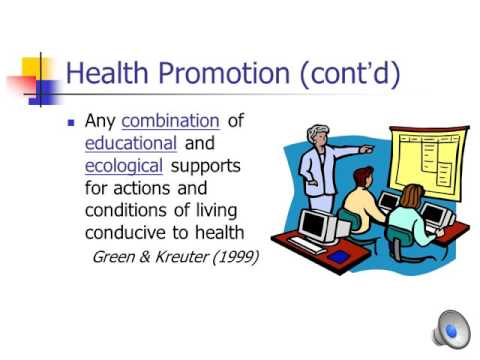 health promotion theory