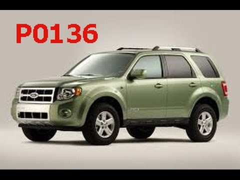 ford escape mazda tribute 3 0l with code p0136 o2 sensor youtube Ford Taurus Oxygen Sensor Location Diagram youtube premium