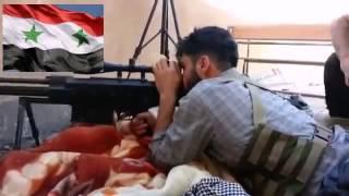 Путин Война в Сирии  Так погибают снайпера