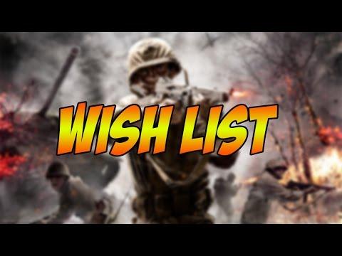 My WW2 CoD Wish List (World at War Gameplay)