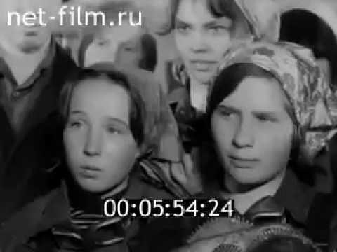 Тихвин, интересные кадры 1974 год