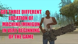 (0.23 MB) How To Get Machine Gun In GTA San Andreas (Beginning Of The Game) Mp3