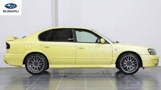 Subaru legacy B4 rsk 1998 test drive