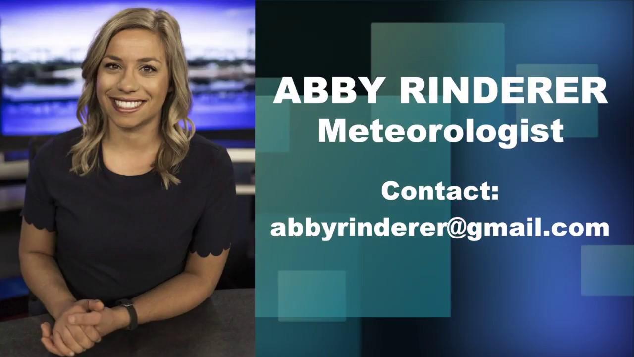 Abby Rinderer Meteorologist Reel-KALB