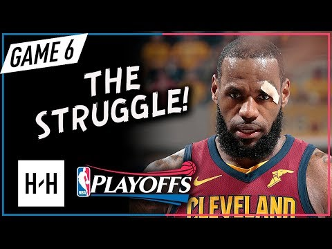 LeBron James Full Game 6 Highlights Cavs vs Pacers 2018 Playoffs - 22 Pts, 7 Ast
