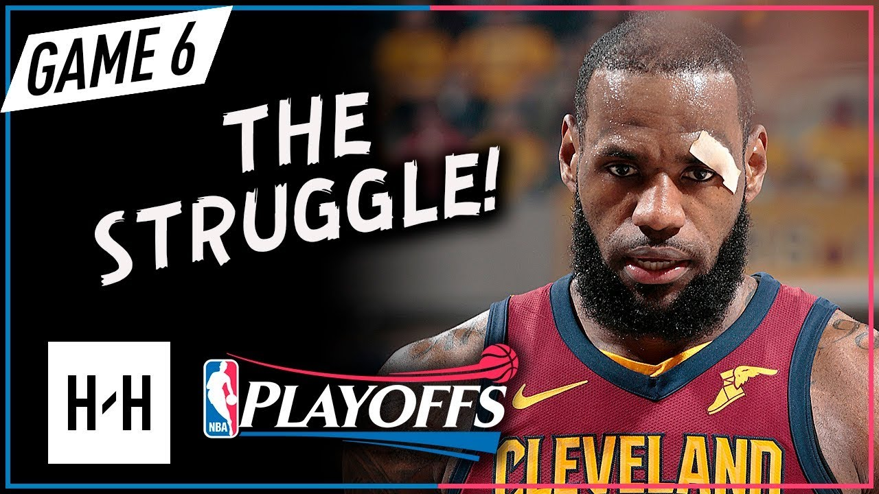 96825fb0d7c LeBron James Full Game 6 Highlights Cavs vs Pacers 2018 Playoffs - 22 Pts
