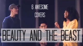 6 AWESOME COVERS | Beauty And The Beast - Disney